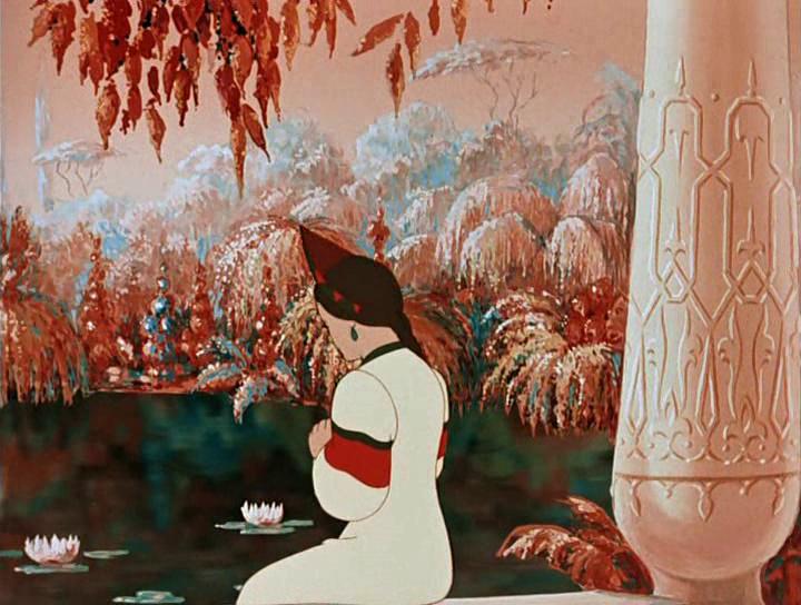 аленький цветочек картинки из мультфильма