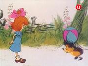 Ёжик и девочка