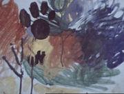 Зайка Петя. Я рисую красный лес