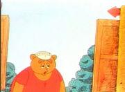 Как кормили медвежонка