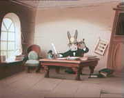 Лиса-строитель (1950)