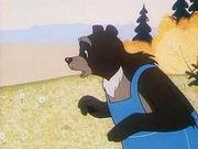 Лиса, медведь и мотоцикл с коляской