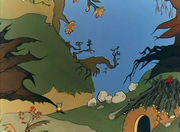 Приключения Мышки.  3. Прогулка в лес