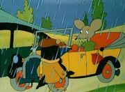 Приключения Мышки.  6. Мышка и автомобиль