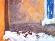 Рекс. 46. Рекс зимой