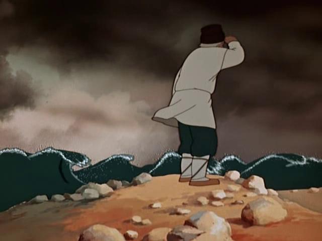пушкин сказка о рыбаке и золотой рыбке мультфильм